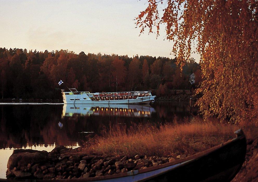 Evening Cruise in September  from Jyväskylä