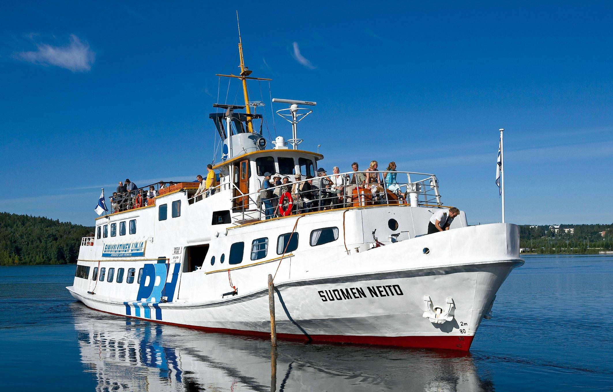 Laivaesittely  Päijänne Cruises Hilden