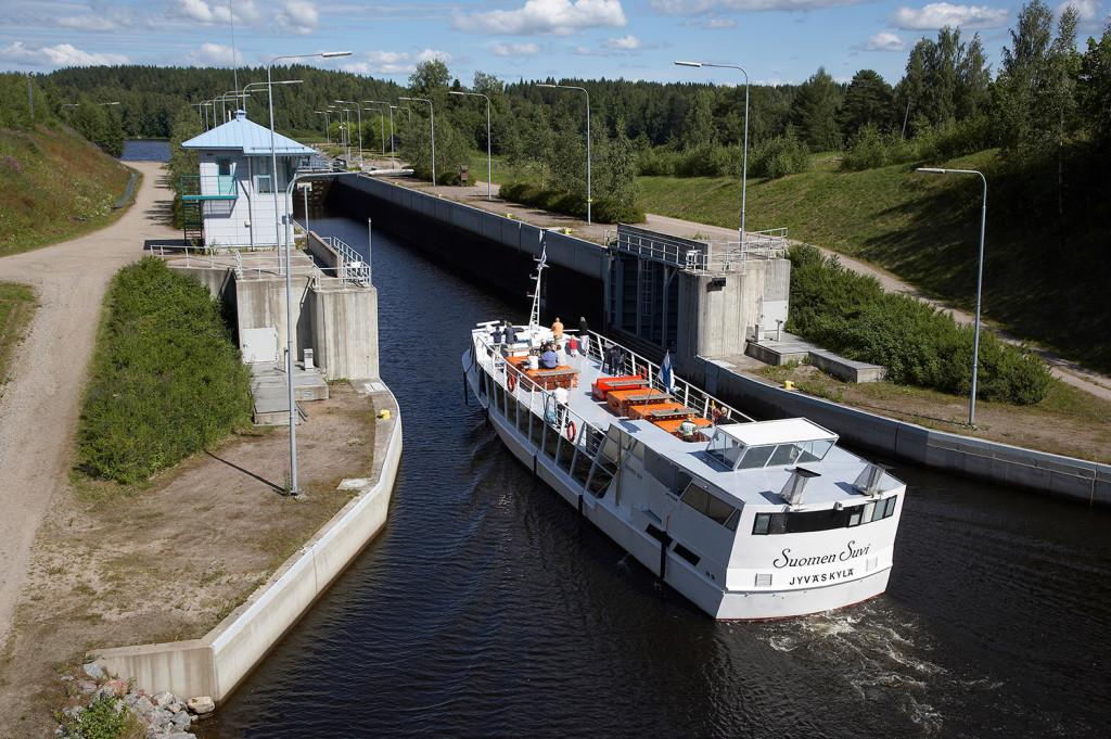 Boat trip Äänekoski – Jyväskylä
