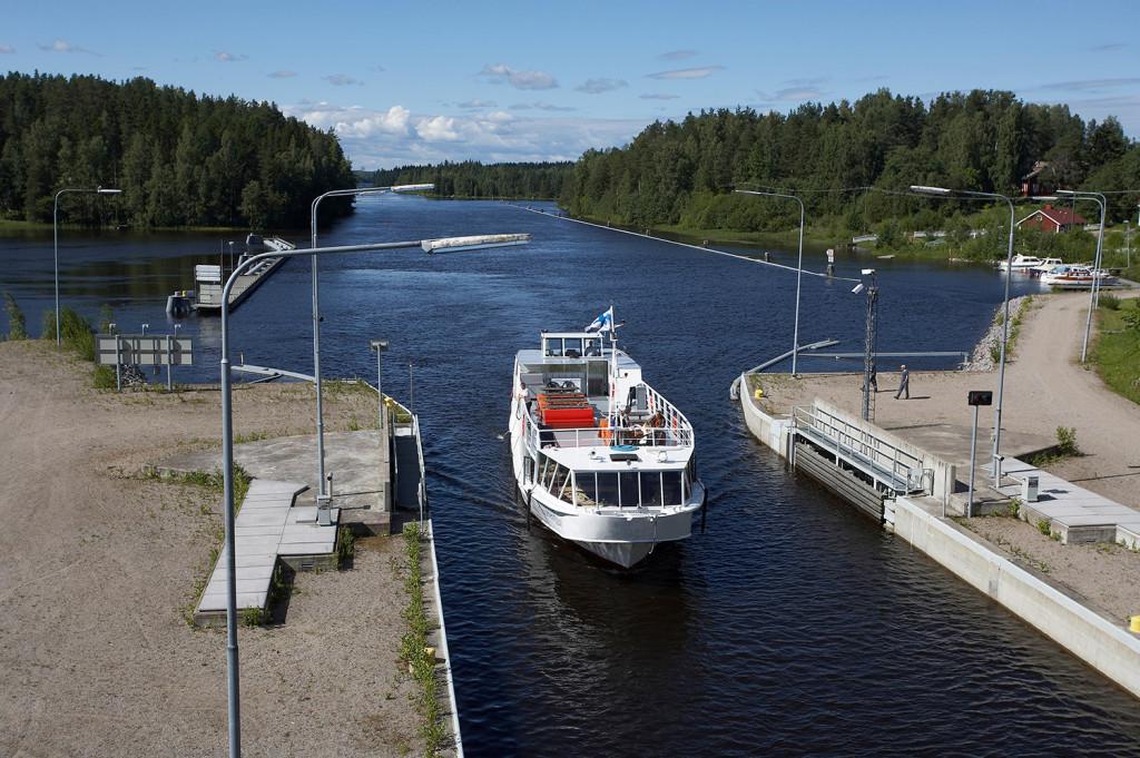 Boat trip Jyväskylä-Äänekoski-Jyväskylä
