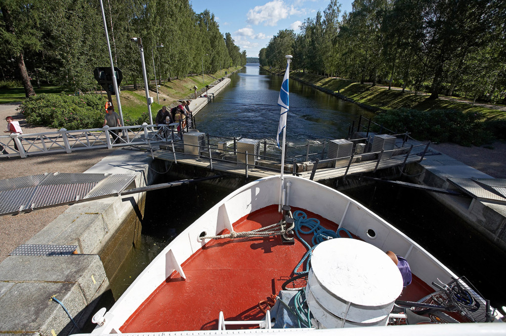 Boat trip Heinola-Lahti