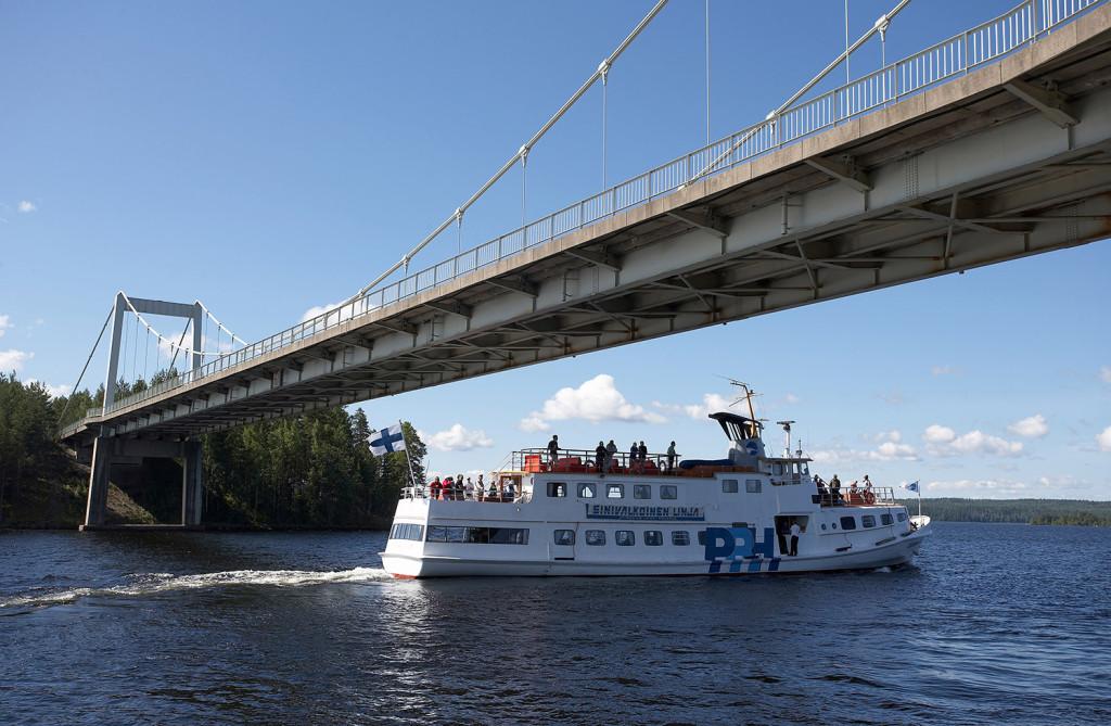 Autumn cruise from Lahti to Vääksy canal