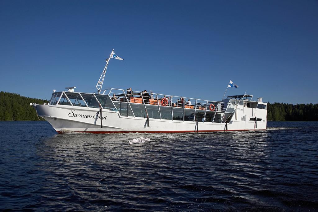 Mid Summer Day Cruise from Jyväskylä on Lake Päijänne