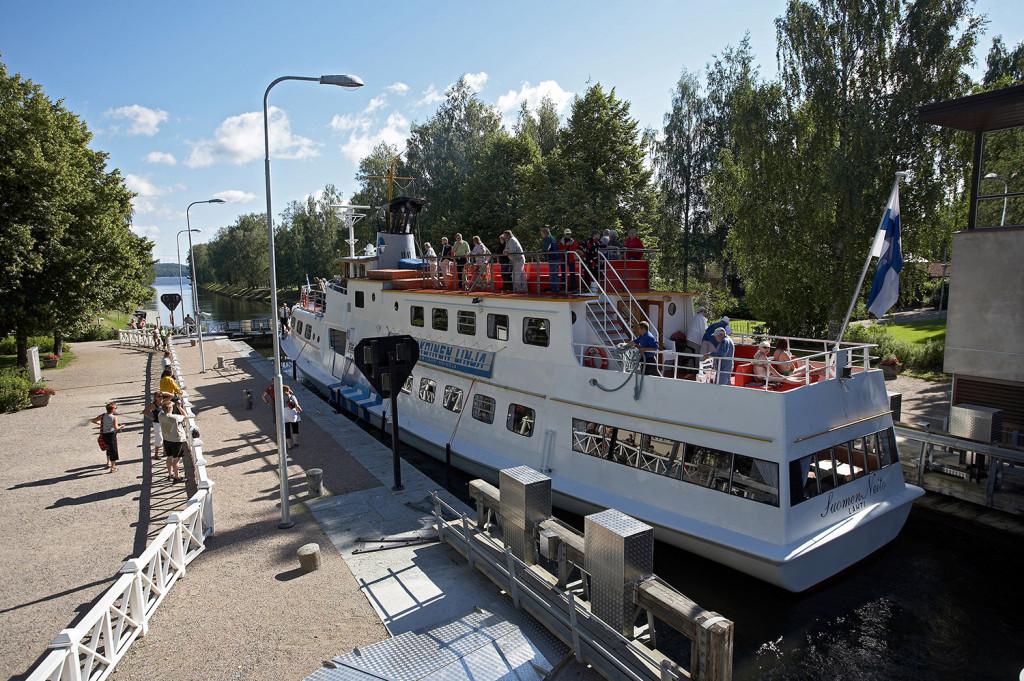 Boat trip Lahti-Heinola